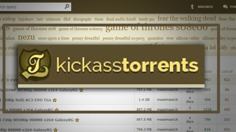 kickass torrents Proxy