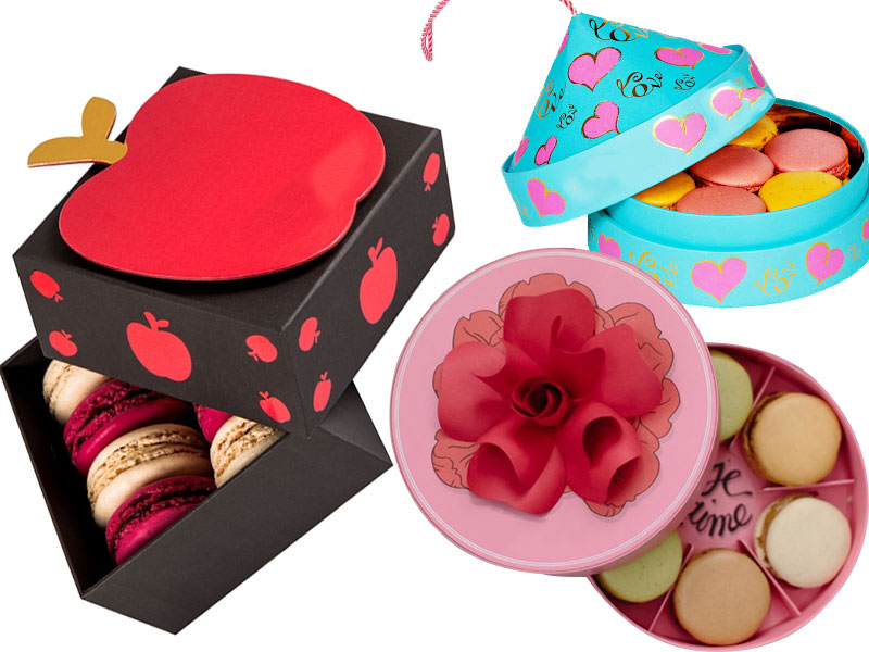 Macaron Boxes for Gifts to make Fests and Events More Fun for the Consumers