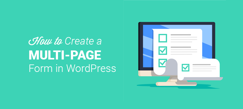 WordPress multi-page form
