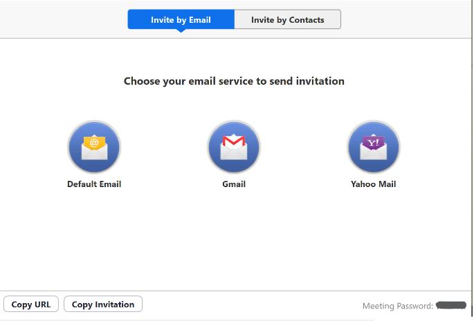 send invites to people