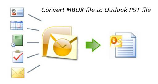 convert MBOX file to Outlook PST file (1)