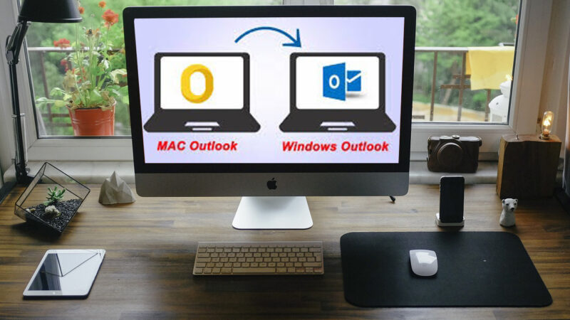 mac to windows Outlook