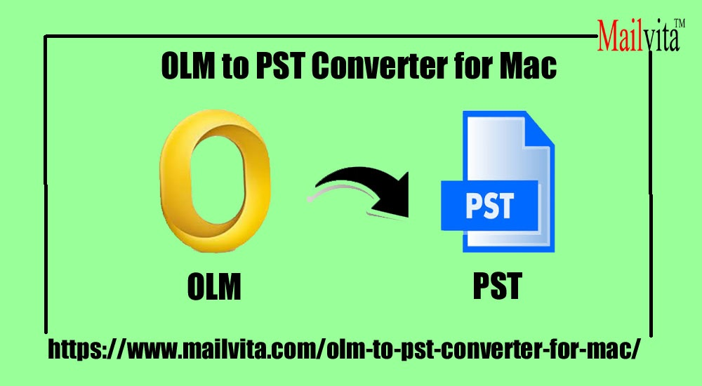Convert OLM to PST on Mac with easy and best method