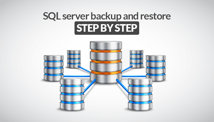 How to do SQL Server Backup and Restore Step by Step