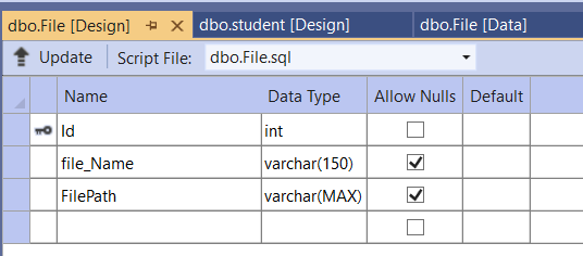 Set up the databases