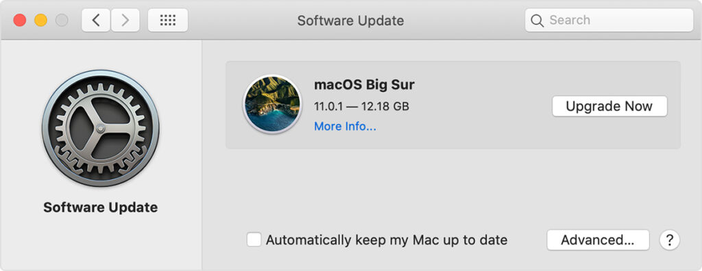 Update to Latest Mac OS