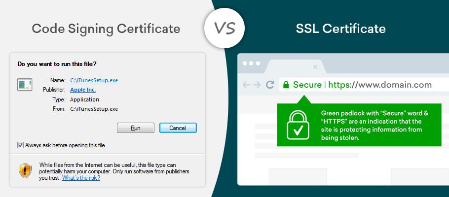 Using Code signing certificates