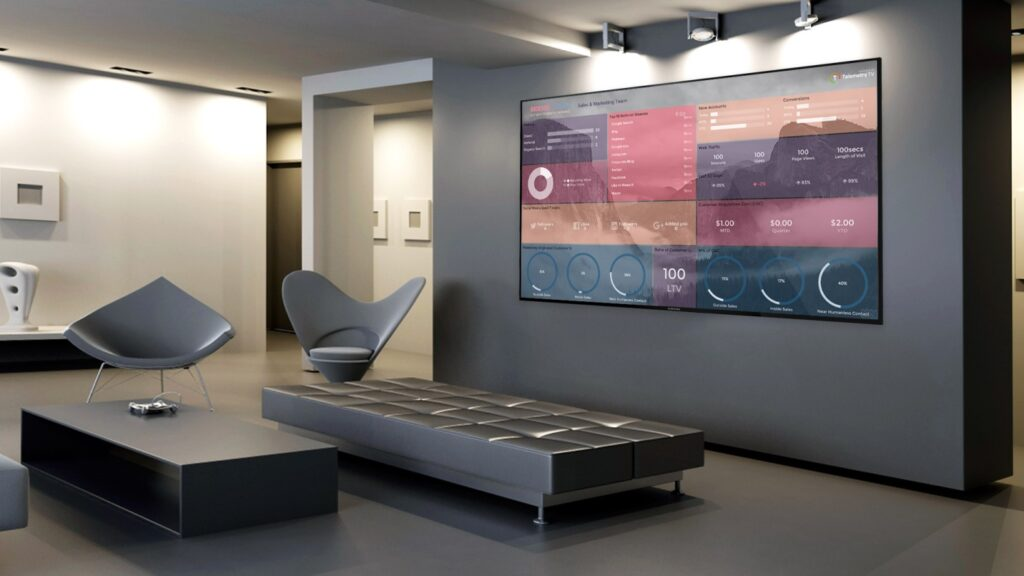 Wall Mounted Digital Displays