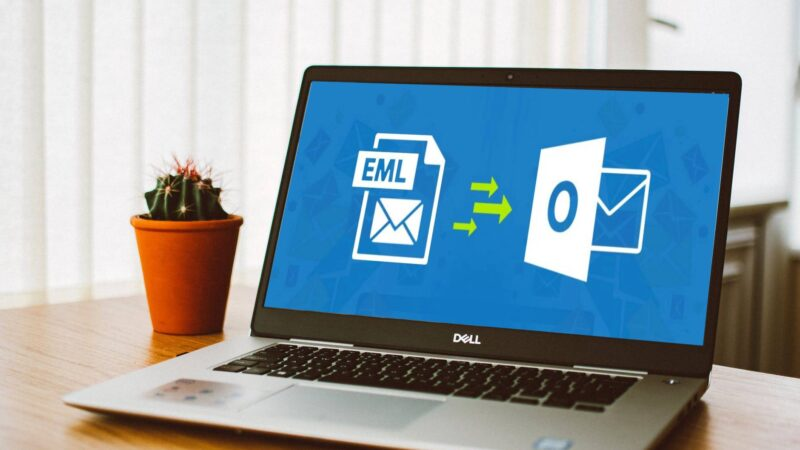 EML files into Outlook PST