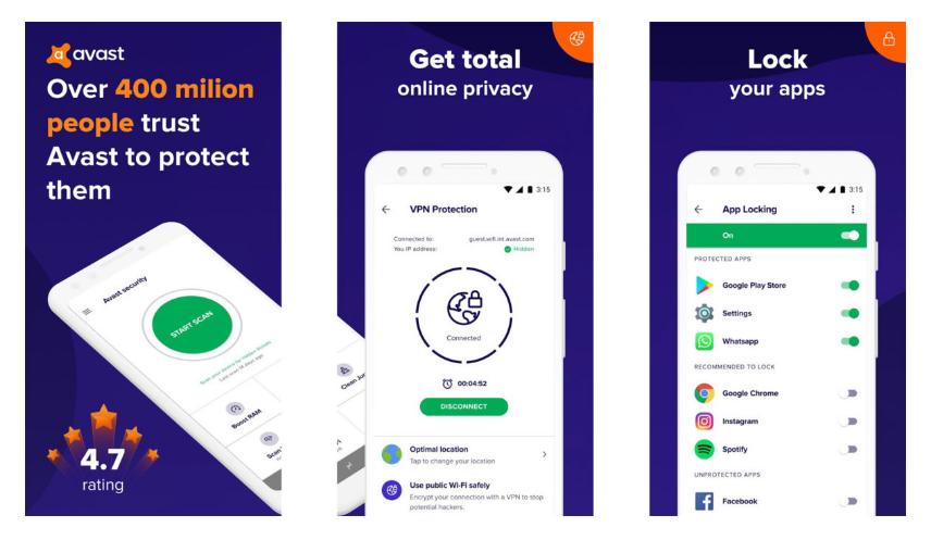 Avast Antivirus - Mobile Security & Virus Cleaner