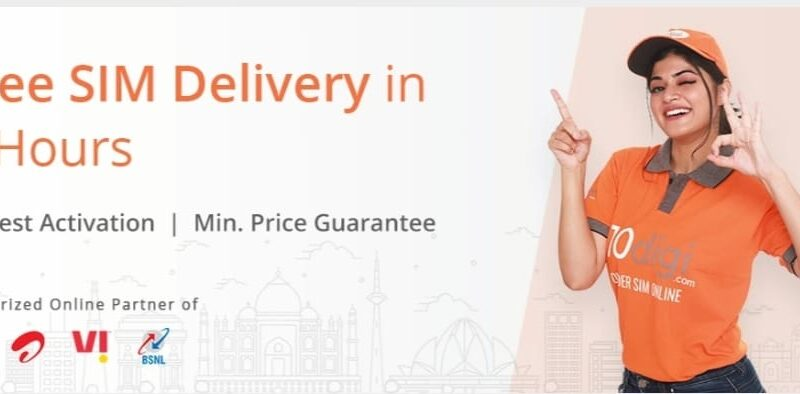 Get Free New SIM Card Delivered at your Doorstep with 10digi – Complete Review
