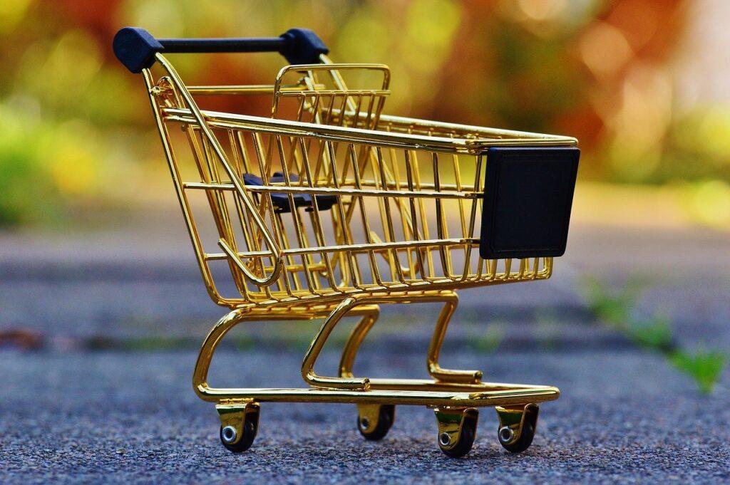 shopping cart feature