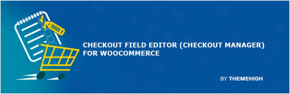 Checkout Field Editor