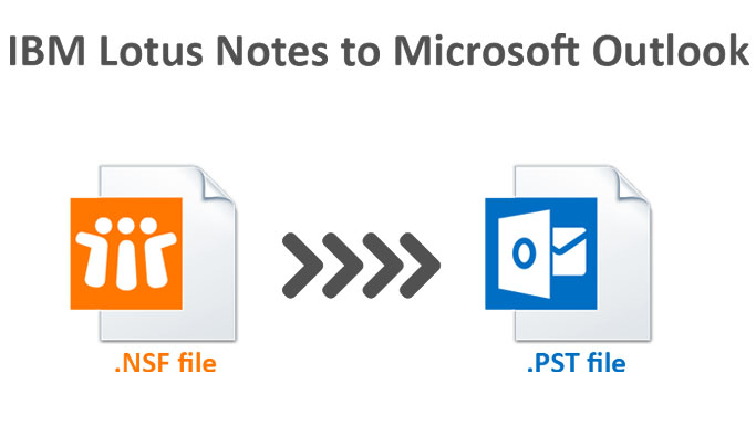 How to convert Lotus Notes NSF files to Outlook PST format!