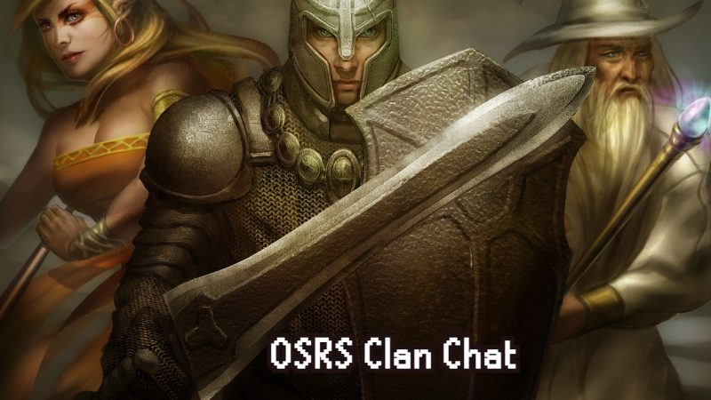 OSRS – How to Use Clan Chat