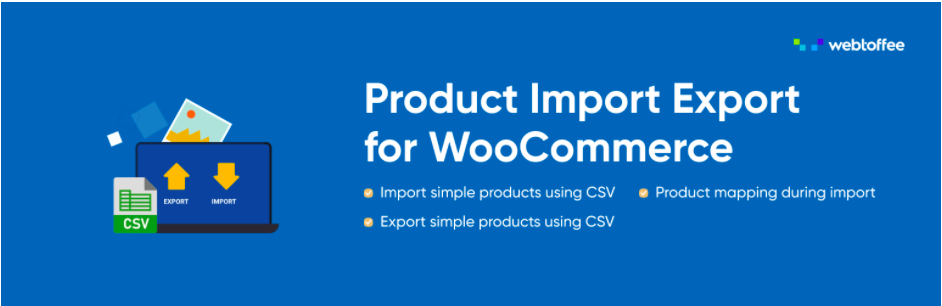 Product Import Export Plugin
