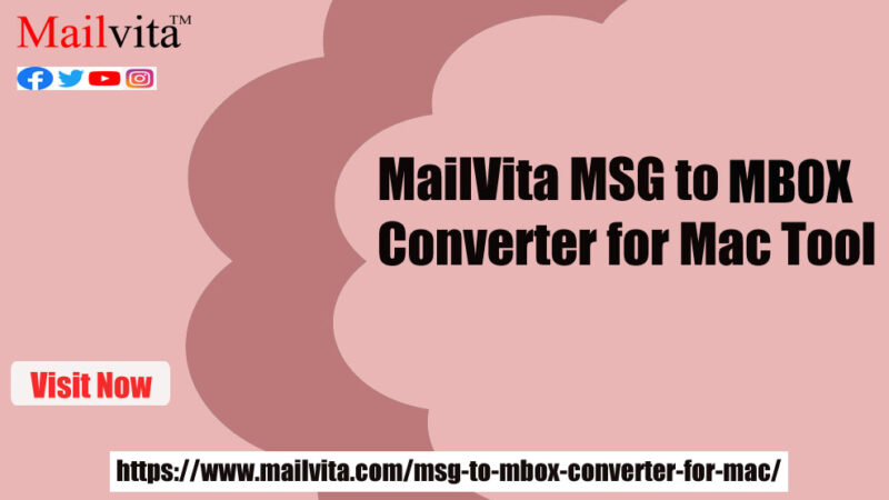 Try out this amazing MSG to MBOX Converter tool