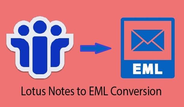 Come convertire i file NSF di Lotus Notes in formato EML?