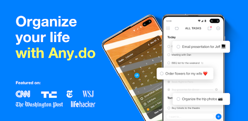 Any.do - To-do list, Planner, and Calendar