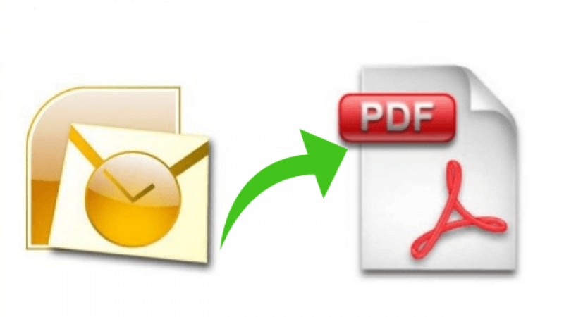 Export Outlook PST to PDF Adobe Documents reliably!