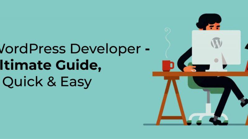 Hire A WordPress Developer – Ultimate Guide, Quick & Easy