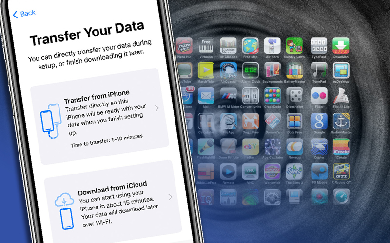 How to transfer data from iPhone to Your new iPhone?