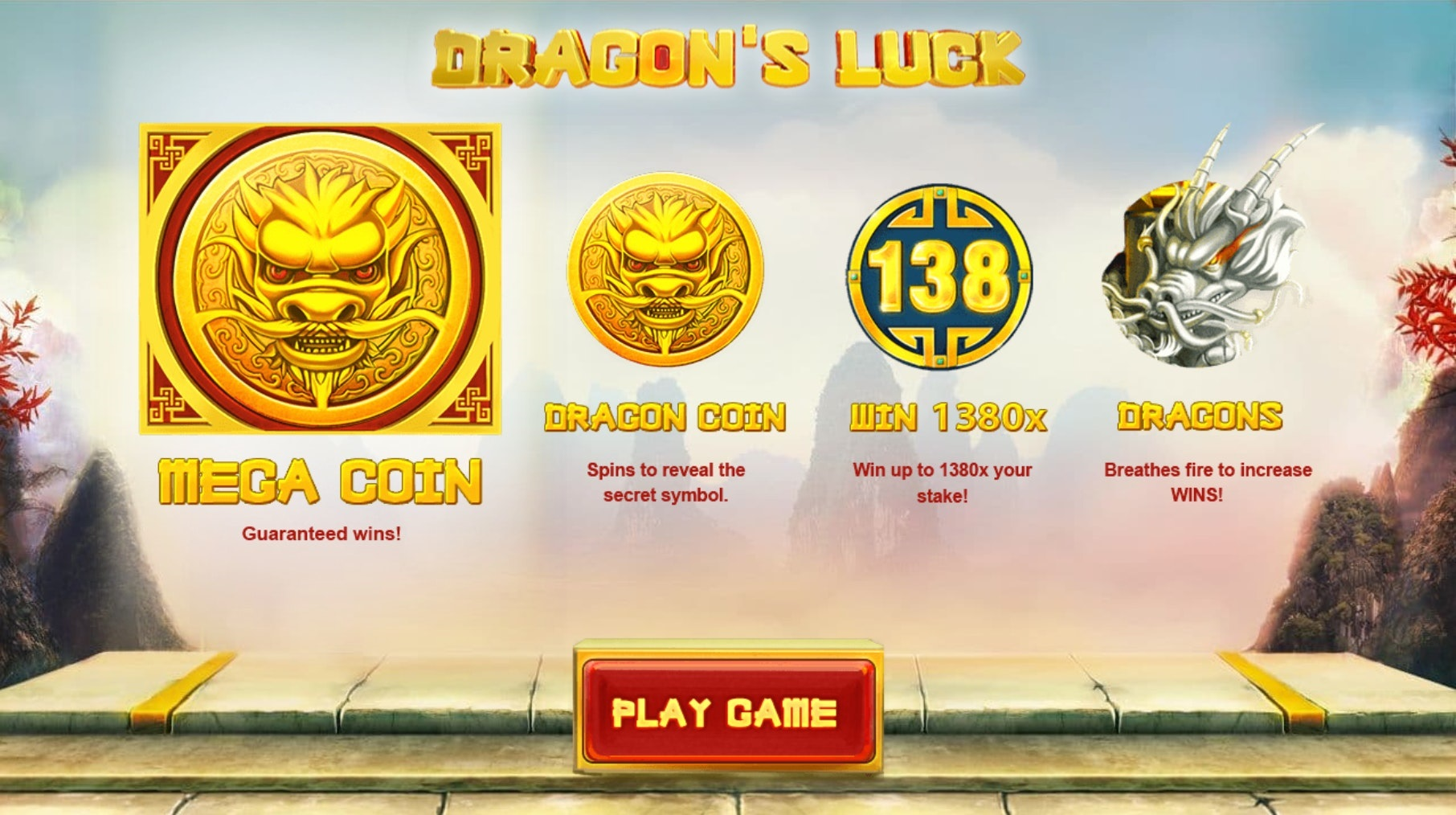 Head to the Far East with Dragon's Luck