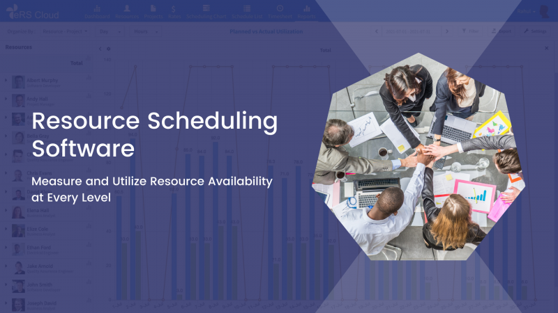 Resource Scheduling Software – Measure and Utilize Resource Availability at Every Level